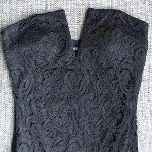 F21 Sexy Black Lace Dress
